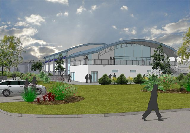 Proposed New Sports Hall